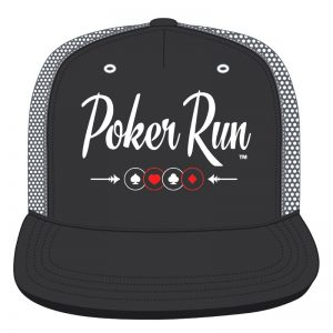 Poker Run Truckers Cap